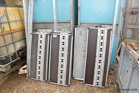 Inbouwstelling voor bestelwagen