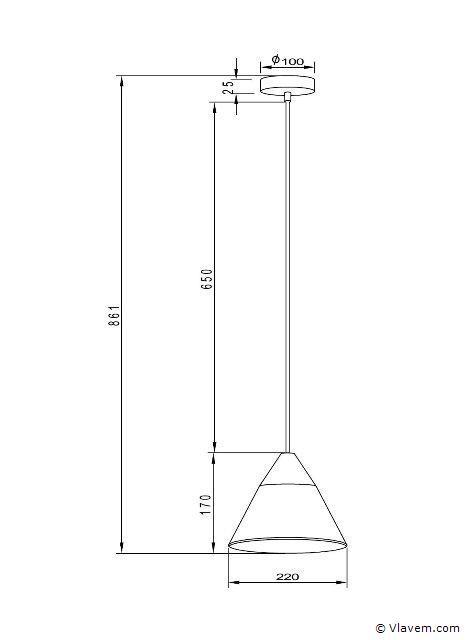 5 x Industriele beton hanglampen - CONWOL - Betongrijs met hout